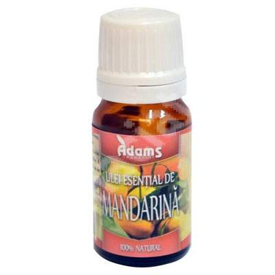 Ulei esential de Mandarina, 10 ml, Adams Vision