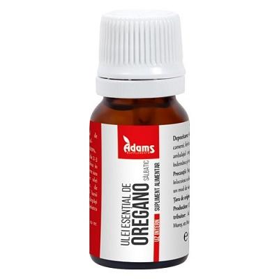 Ulei esențial de Oregano sălbatic uz intern, 10 ml, Adams Vision