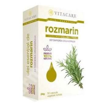 Ulei esential de Rozmarin, 30 capsule, Vitacare