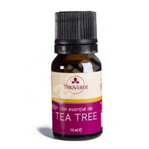 Ulei esential de Tea Tree, 10 ml, Trio Verde