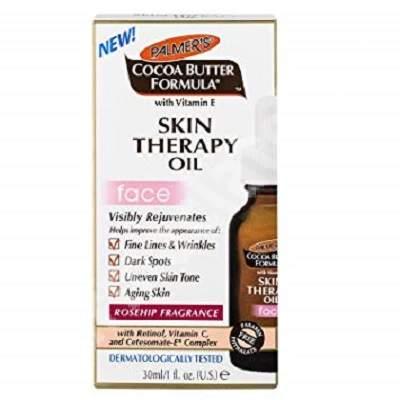 Ulei pentru piele cu trandafiri salbatici Skin Therapy Oil, 30 ml, Palmer's