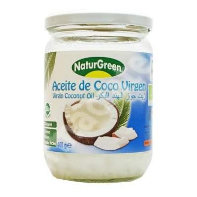 Ulei virgin bio de cocos, 400 g, Naturgreen