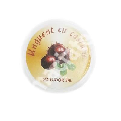 Unguent cu castane, 20 g, Elidor