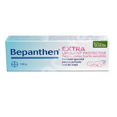 Unguent protector pentru pielea sensibilă, Bepanthen Extra, 100 g, Bayer