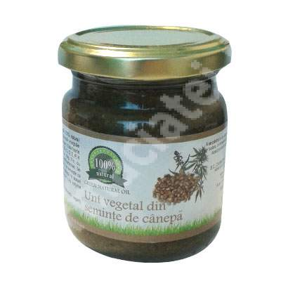 Unt vegetal din seminte de canepa, 200 g, Carmita Classic