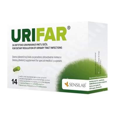 Urifar, 14 plicuri, Sensilab