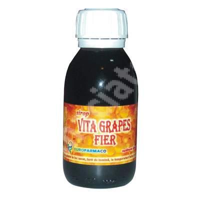 Vita Grapes Fier sirop, 125 g, Eurofarmaco