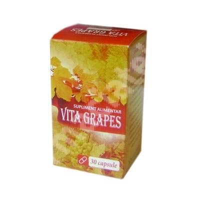 Vita Grapes supliment alimentar, 30 capsule, Eurofarmaco