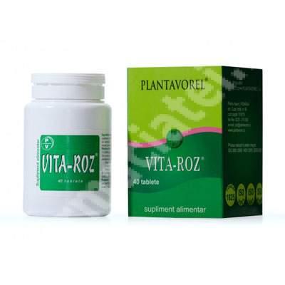 Vita-Roz, 40 tablete, Plantavorel