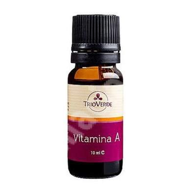 Vitamina A, 10 ml, Trio Verde