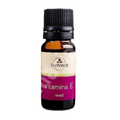 Vitamina E, 10 ml, Trio Verde