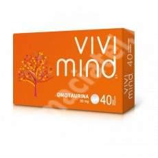 Vivimind, 40 + 40 comprimate, Inocare Pharm (Pretul este pentru 2 cutii)