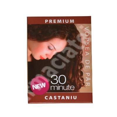 Vopsea de păr cu henna nuanță castaniu Sonia Henna, 60 g, Kian Cosmetics