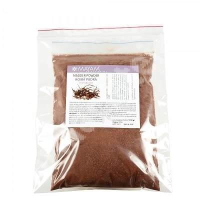 Vopsea de par naturala Pudra de Roiba (M - 1300), 100 g, Mayam