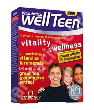 Wellteen, 30 tablete, Vitabiotics