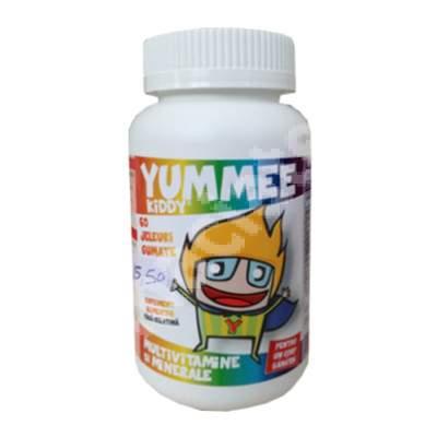 Yummee Kiddy cu multivitamine si minerale, 60 jeleuri, Farmex Company
