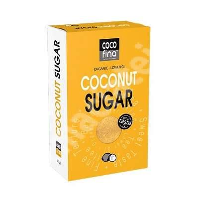 Zahar de nuca de cocos organic, 500 g, CocoFina