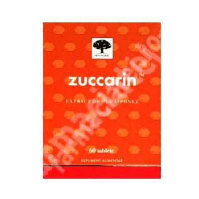 Zuccarin, 60 tablete, New Nordic