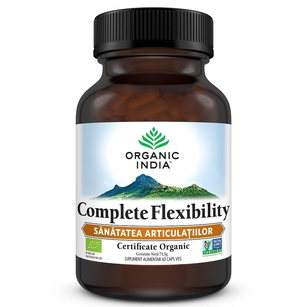 Complete Flexibility, Sanatatea Articulatiilor, 60 capsule, Organic India