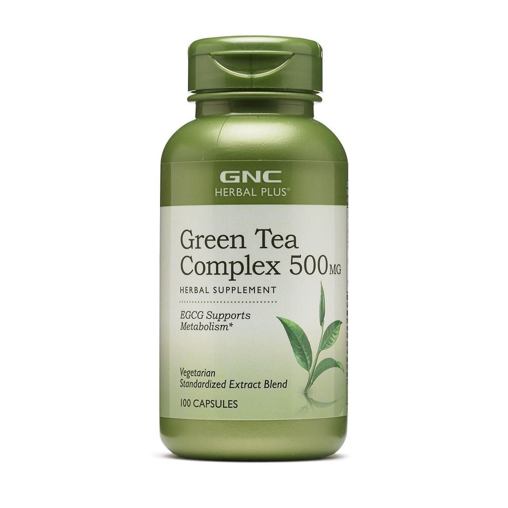 Complex De Ceai Verde 500 mg (199014), 100 capsule, GNC