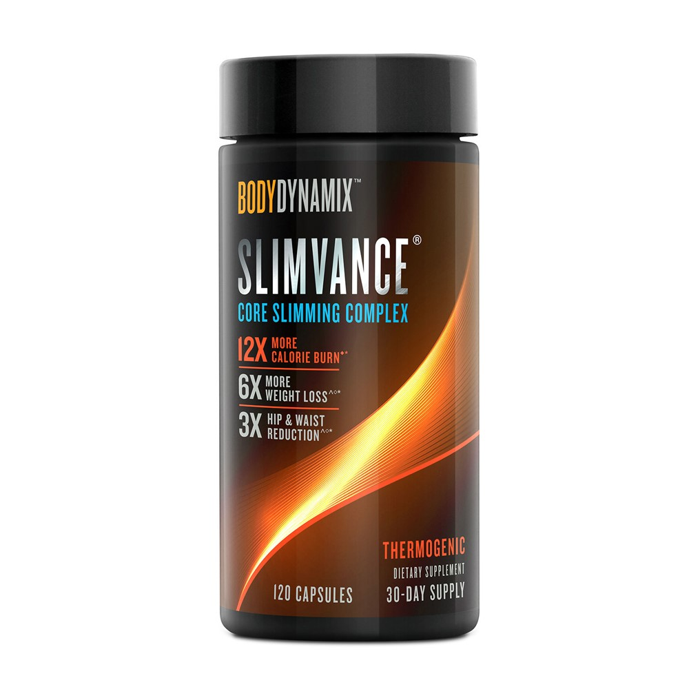 Complex de slabit Slimvance Bodynamix (487403), 120 capsule, GNC