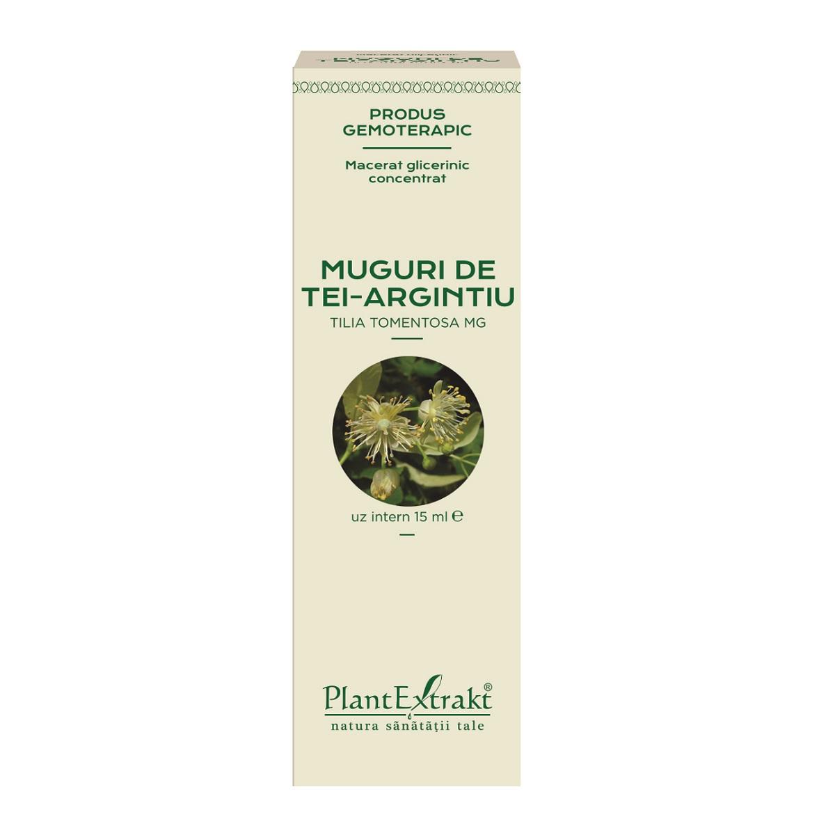 Muguri de Tei Argintiu, 15 ml, Plant Extrakt