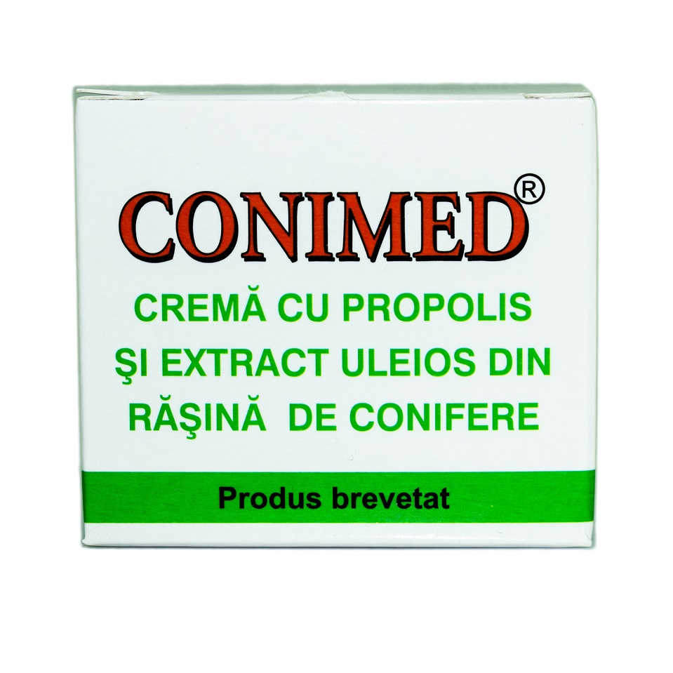 Crema cu apilarnil, propolis, rasina de conifere si extract de castane Carpimed, 50 ml, Elzin Plant