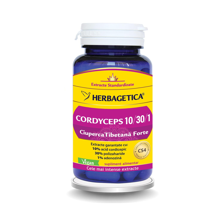 Cordyceps Forte, 60 capsule, Herbagetica