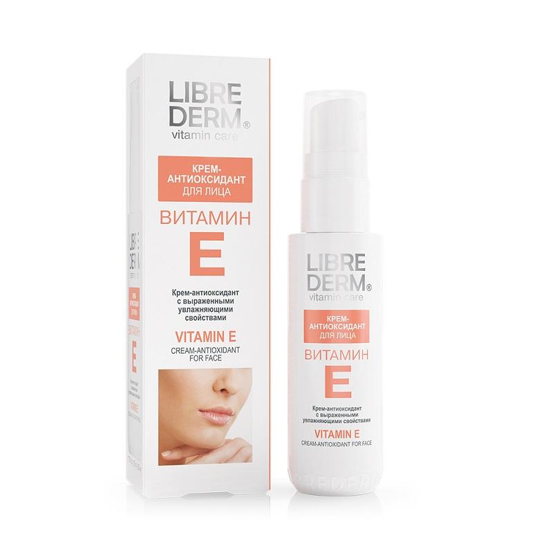 Cremă pentru față antioxidantă cu Vitamina E, 50ml, Libre Derm