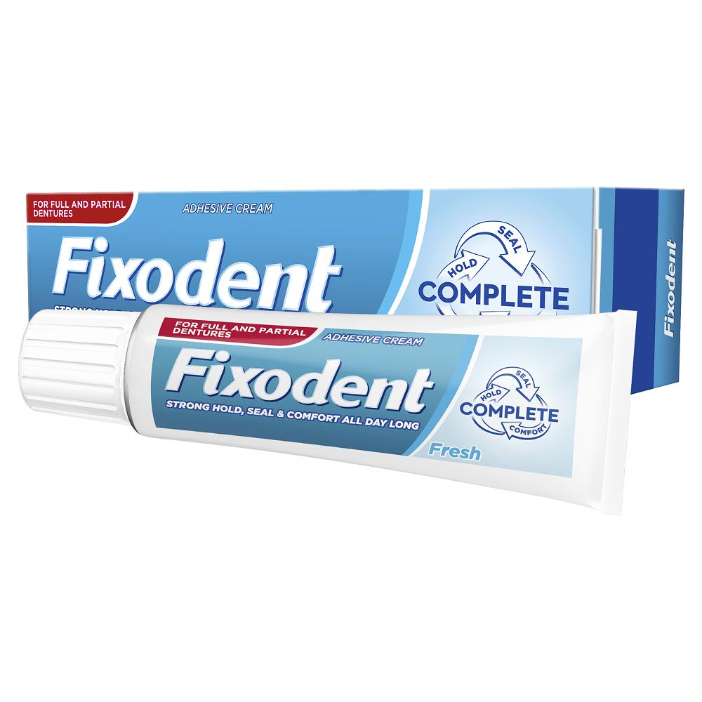 Crema adeziva pentru proteza dentara Fresh, 47 g, Fixodent Complete