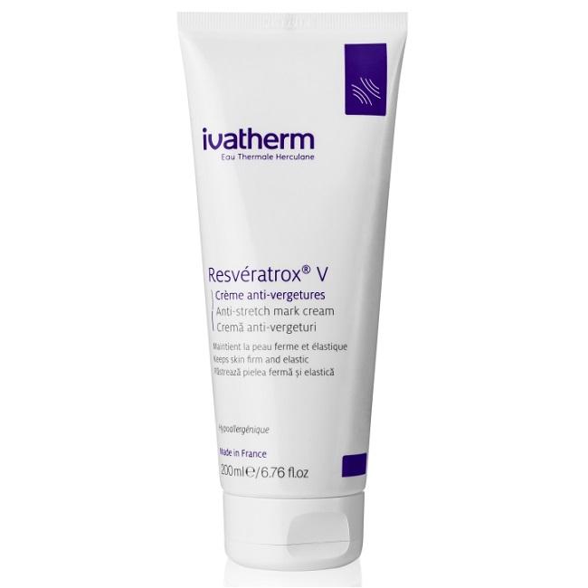 Crema anti-vergeturi Resveratrox V, 200 ml, Ivatherm