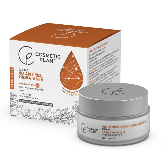 Crema antirid hidratanta Face Care, 50 ml, Cosmetic Plant