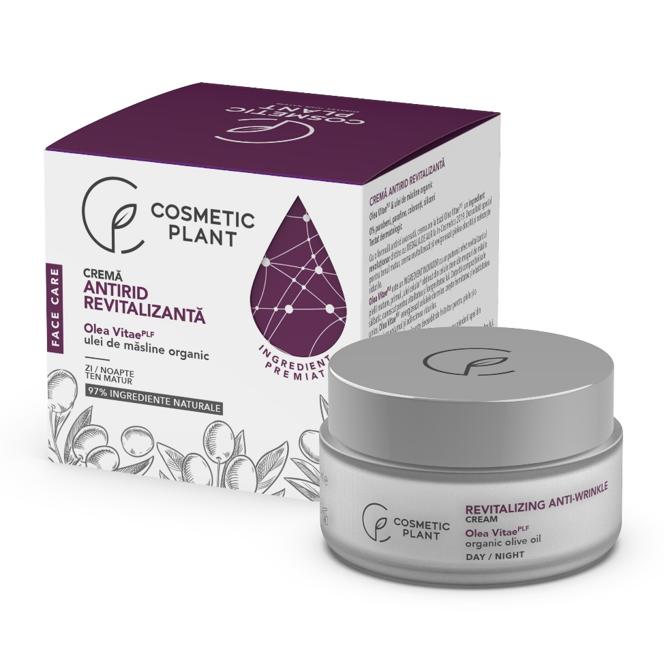 Crema antirid revitalizanta Face Care, 50 ml, Cosmetic Plant