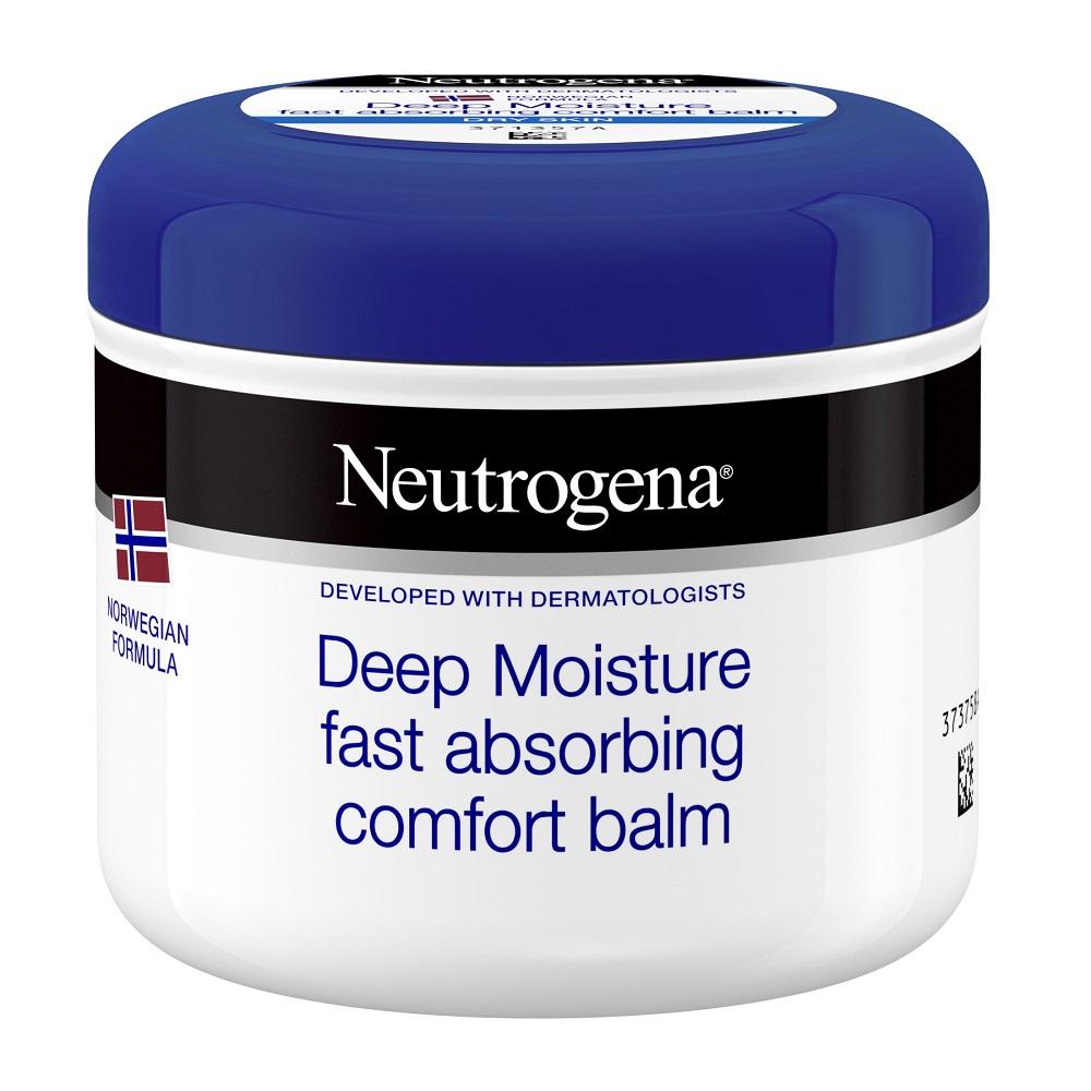 Crema de corp intens hidratanta cu absorbtie rapida Neutrogena Deep Moisture, 300 ml, Johnson&Johnson
