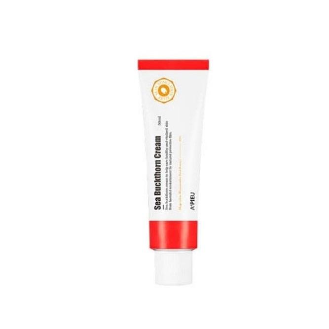 Crema faciala hidratanta cu extract de catina, 50 ml, Apieu