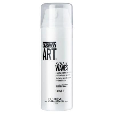 Crema fixatoare pentru par cret si ondulat Siren Waves Tecni.Art, 150 ml, Loreal Professionnel