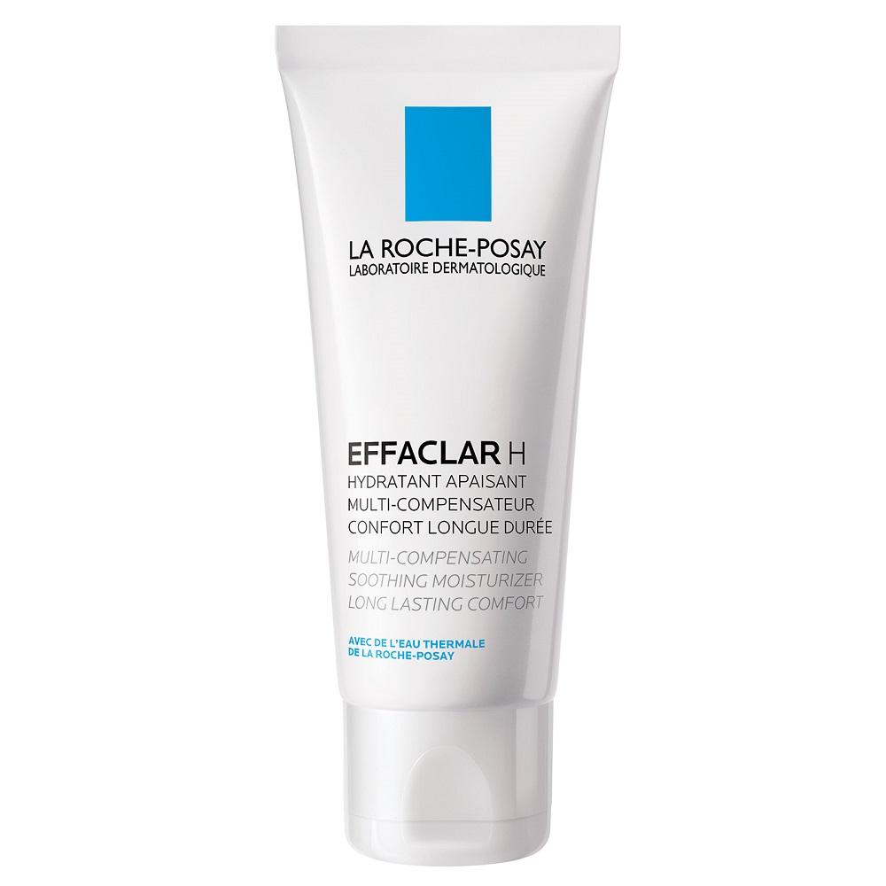 Cremă hidratantă calmantă pentru tenul gras sensibilizat Effaclar H, 40 ml, La Roche-Posay