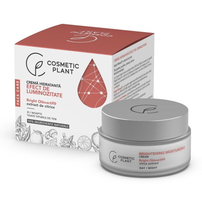 Crema hidratanta cu efect de luminozitate Face Care, 50 ml, Cosmetic Plant