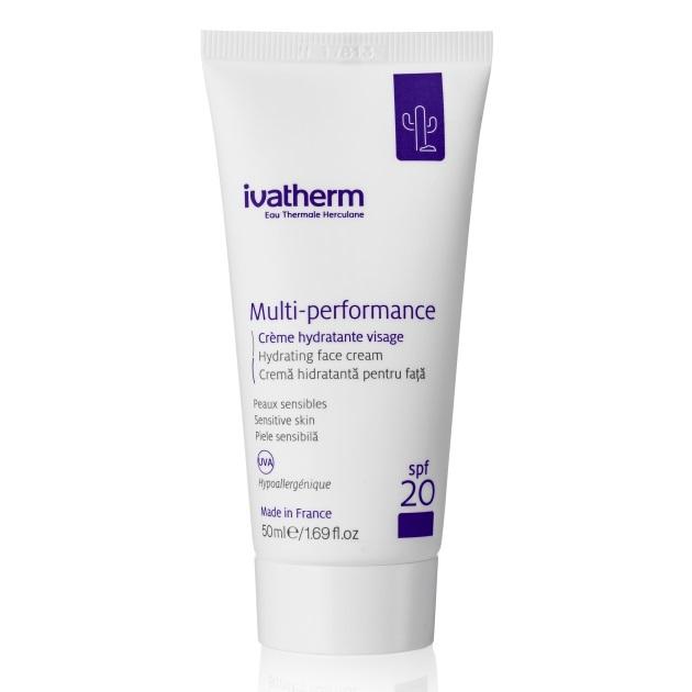 Crema hidratanta pentru fata SPF 20 Multi-Performance, 50 ml, Ivatherm