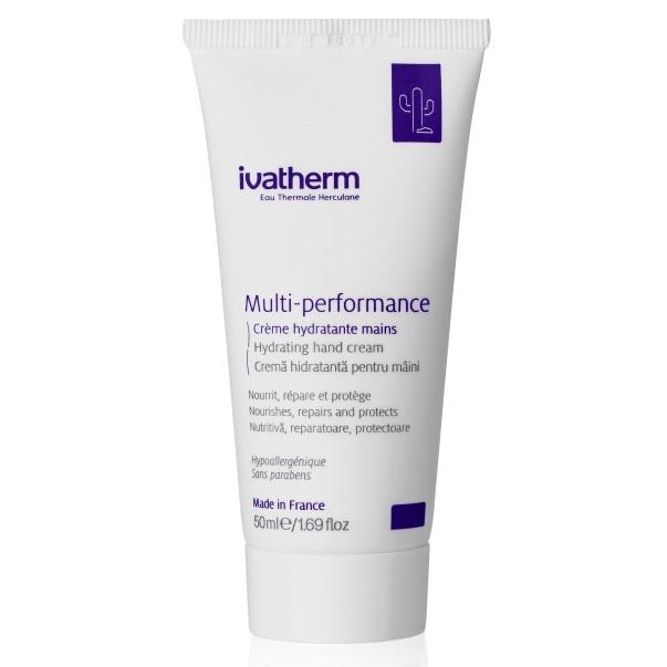 Crema hidratanta pentru ingrijirea mainilor Multi-performace, 50 ml, Ivatherm