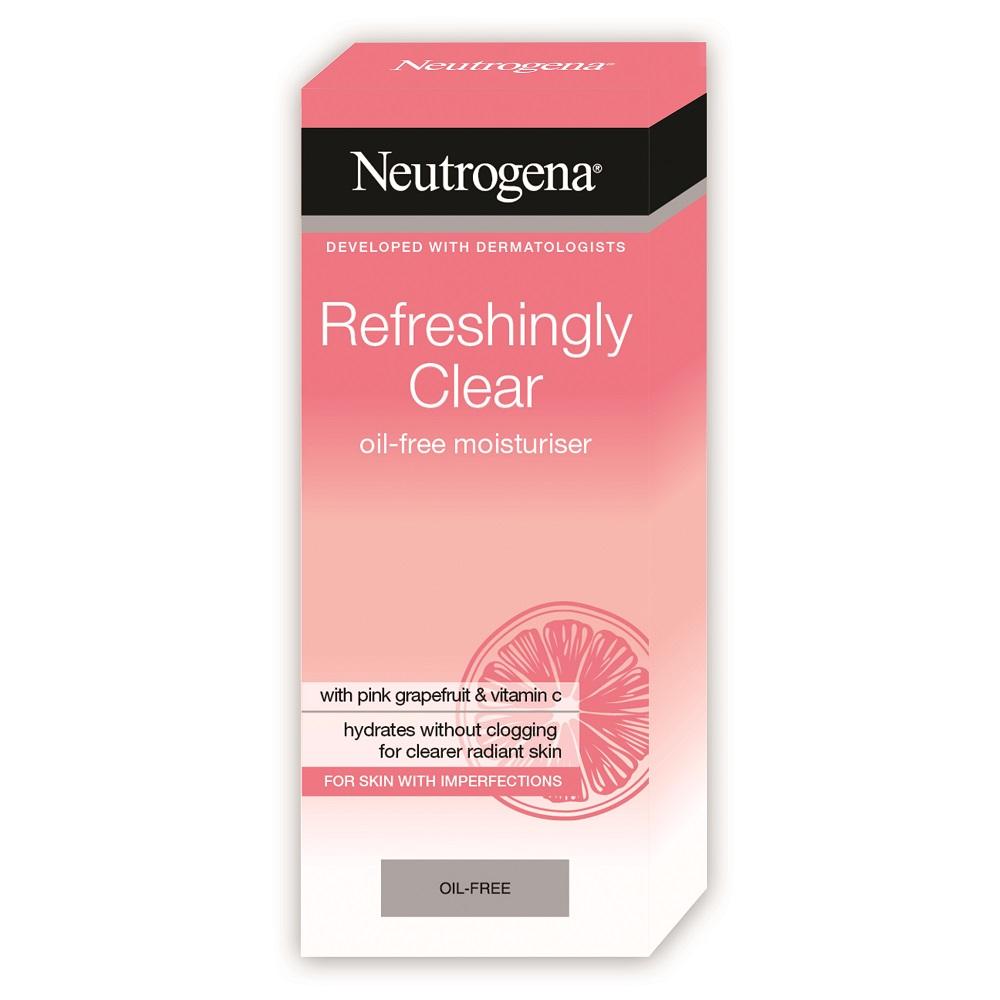 Crema hidratanta pentru ten cu imperfectiuni Neutrogena Refreshingly Clear, 50 ml, Johnson&Johnson