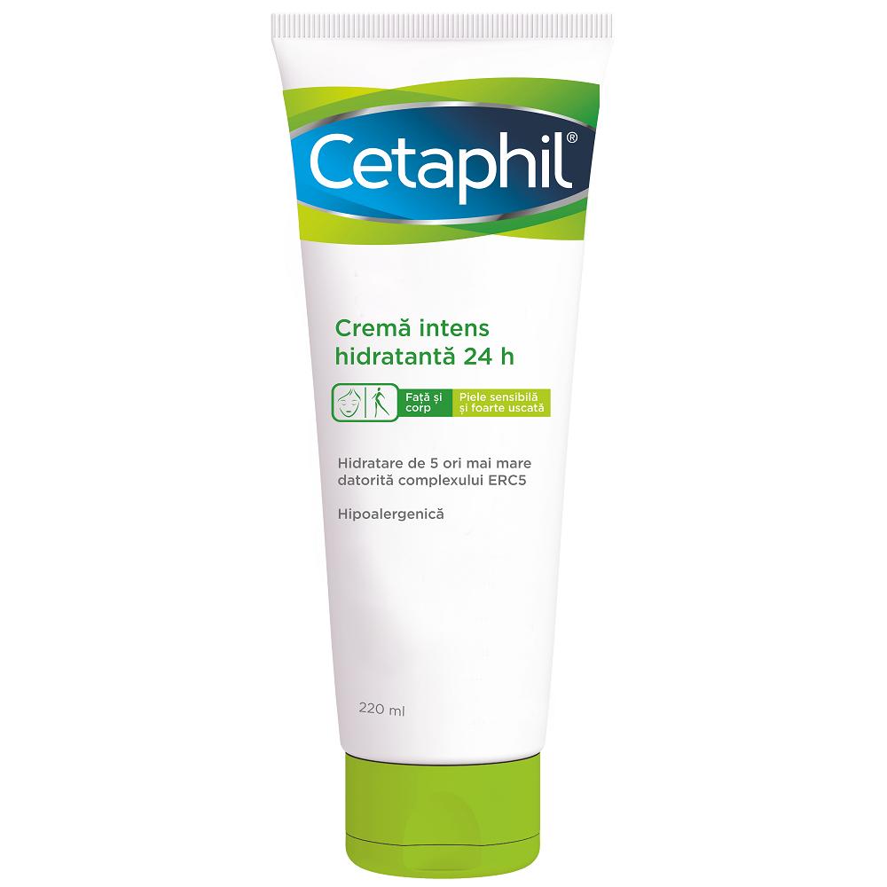 Crema intens hidratanta de zi Cetaphil, 220 ml, Galderma