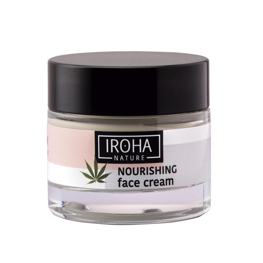 Crema nutritiva pentru fata Herb, 50 ml, Iroha