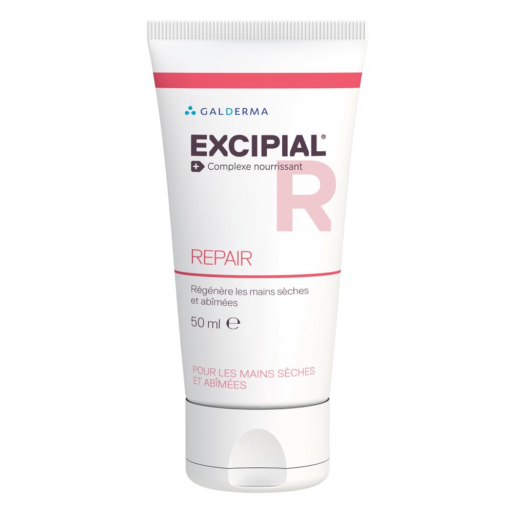 Cremă pentru mâini uscate și iritate Excipial R Repair, 50 ml, Galderma