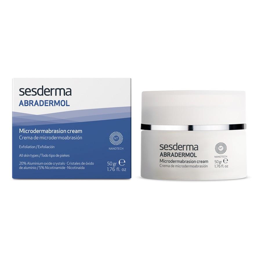 Crema pentru microdermoabraziune Abradermol, 50 ml, Sesderma