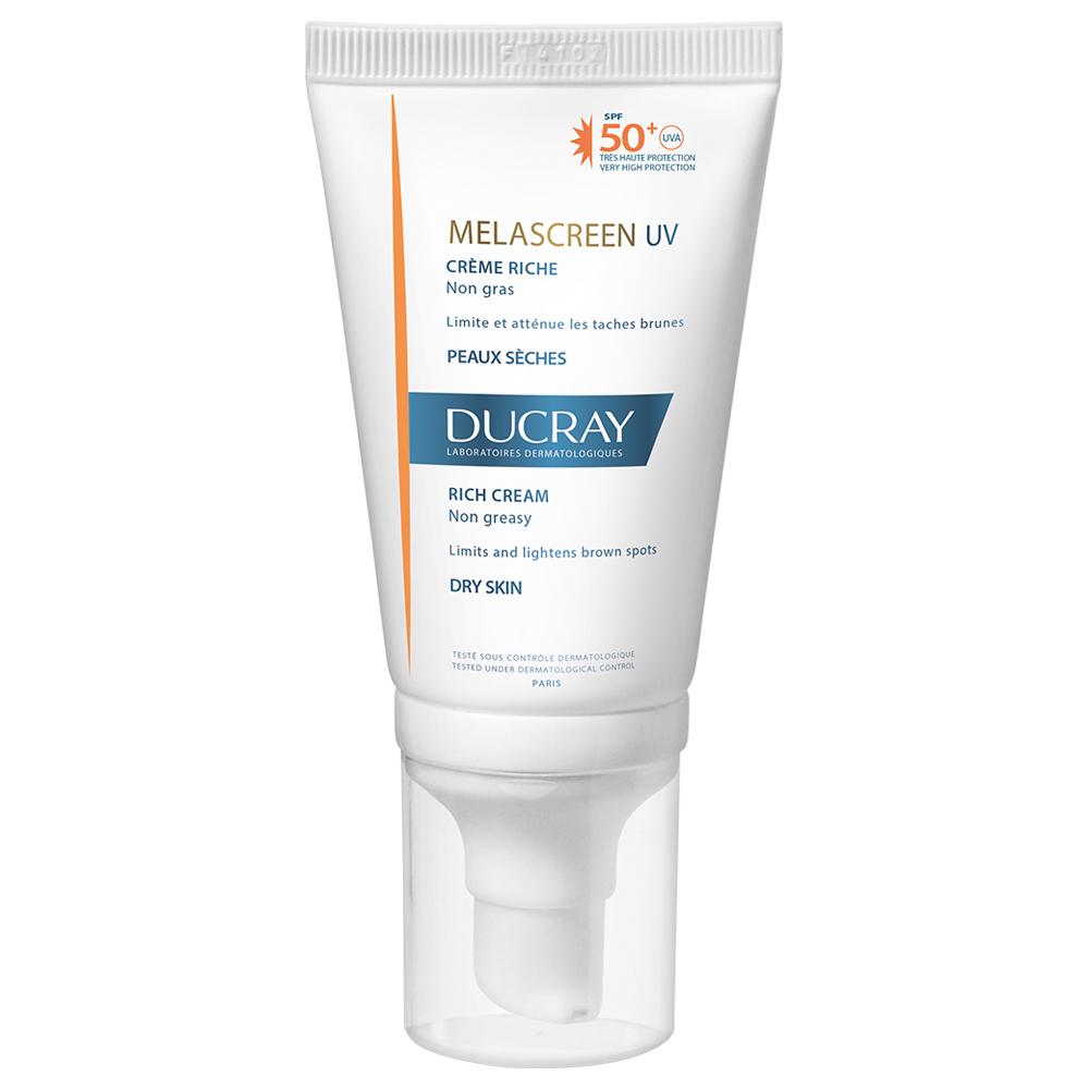 Crema pentru ten uscat cu SPF 50 Melascreen UV Riche, 40 ml, Ducray