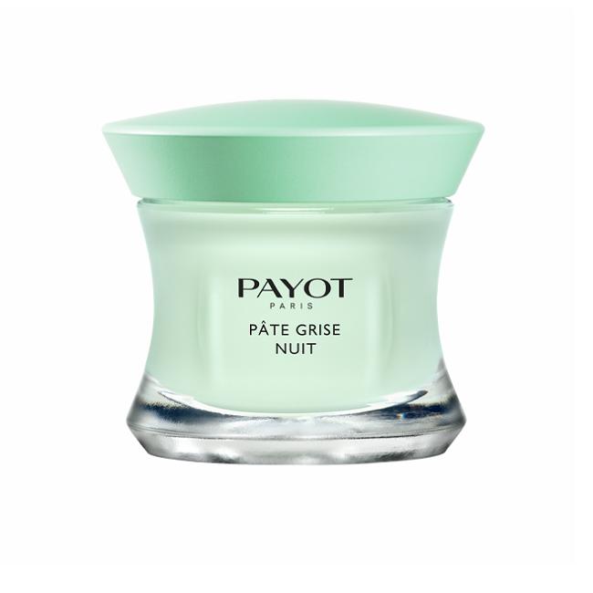 Cremă purifiantă de noapte pentru pielea cu imperfecțiuni Pate Grise, 50 ml, Payot