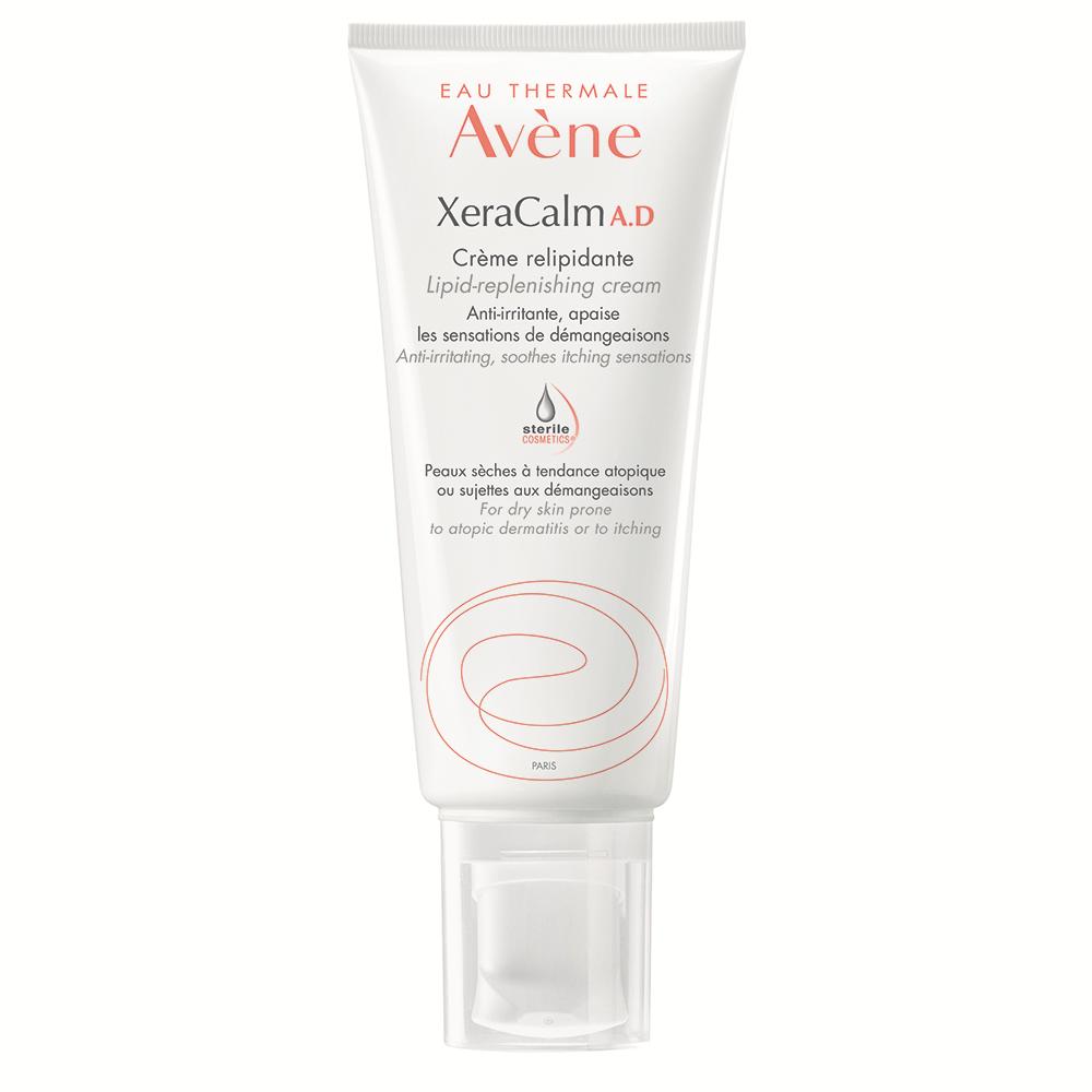 Cremă relipidantă pentru pielea uscată predispusă la dermatită atopică sau prurit XeraCalm A.D., 200 ml, Avene