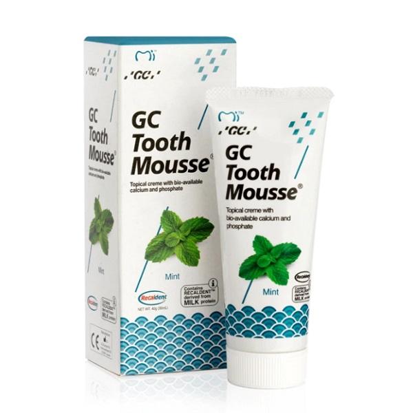 Crema topica pe baza de apa cu aroma de menta Tooth Mousse, 40 g, GC