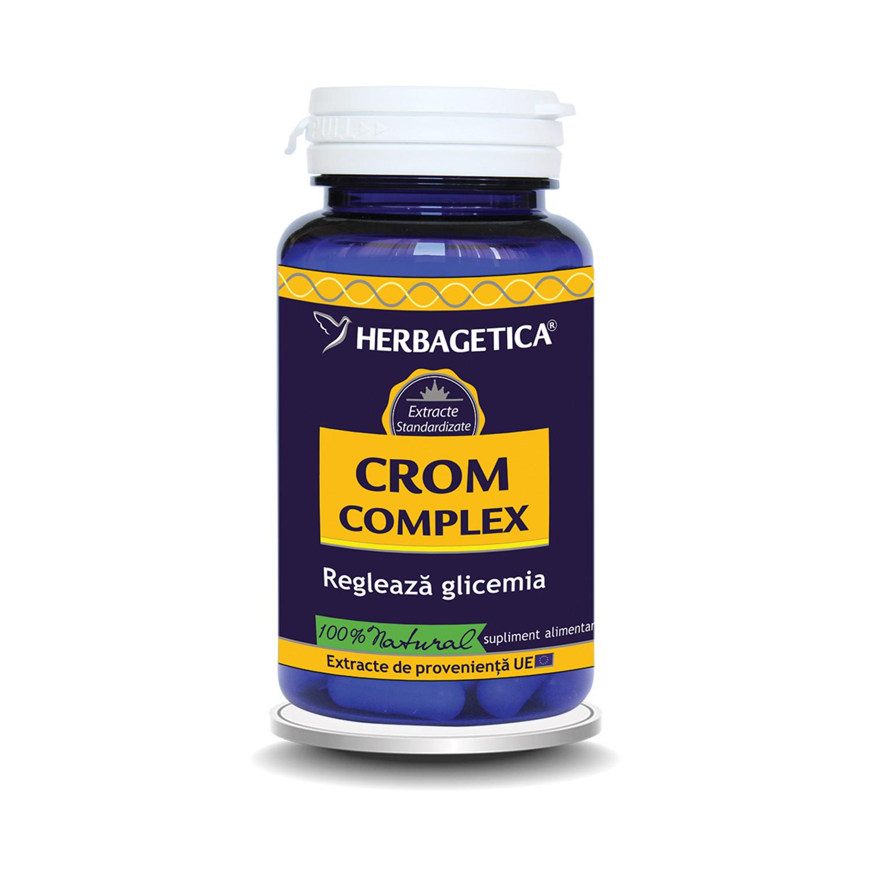 Crom Complex, 60 capsule, Herbagetica